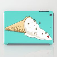 ski iPad Cases featuring Ant Ski by Lili Batista