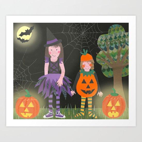 Halloween. Art Print