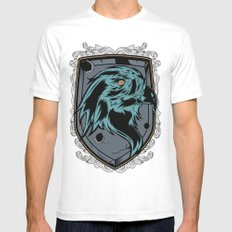 save the eagles Mens Fitted Tee MEDIUM White