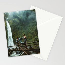 Adult adventure beauty mountain Stationery Cards