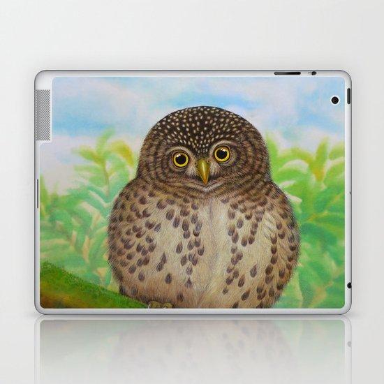 Collared Owlet Laptop & iPad Skin