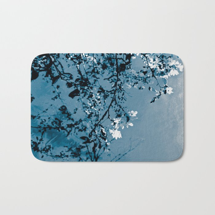 Spring Synthesis in Monochrome Bath Mat