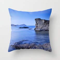 Volcanic reef Throw Pillow