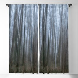 Scary forest Blackout Curtain