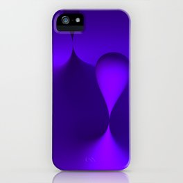 the color lilac iPhone Case