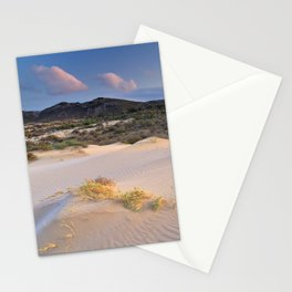Pink desert Stationery Cards