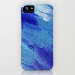 Deepest blues iPhone Case