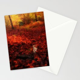 Autumn Impression Stationery Cards