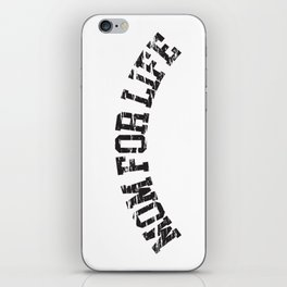 Mom for Life iPhone Skin