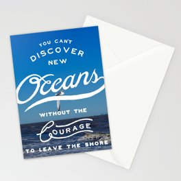 Discover New Oceans Stationery Cards
