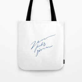 Zero fucks given Tote Bag