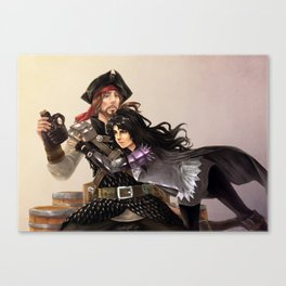 Playful Companions Canvas Print