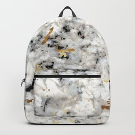 Classic Marble with Gold Specks Backpack