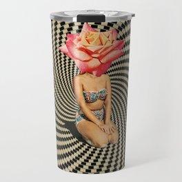 Flower head Travel Mug