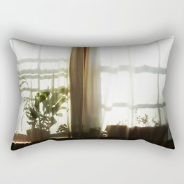 Morning light diffused  Rectangular Pillow