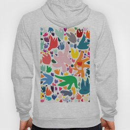 Colorful Joyful Pattern Abstract Hoody