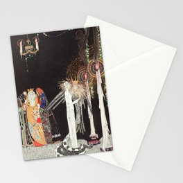 kay nielsen she got over it for the first time Stationery Cards