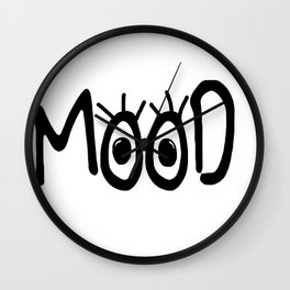 Mood #3 Wall Clock