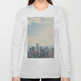 Looking down on the city ... Long Sleeve T-shirt