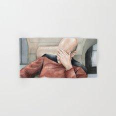 Picard Facepalm Meme Hand & Bath Towel