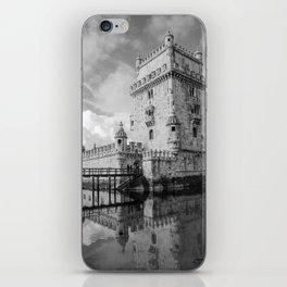 Belem Tower Lisbon 4 iPhone Skin