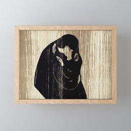 """Edvard Munch """"The Kiss"""", 1897 Framed Mini Art Print"""