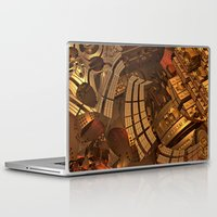 mad Laptop & iPad Skins featuring Mad Mad World by Lyle Hatch