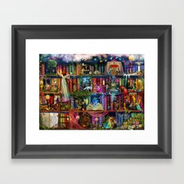 Whimsy Trove - Treasure Hunt Framed Art Print
