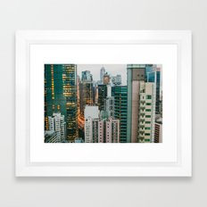 Hong Kong 2 Framed Art Print
