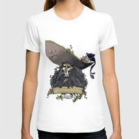 monkey island T-shirts featuring Le Chuck from Monkey Island by Sara E. Snodgrass