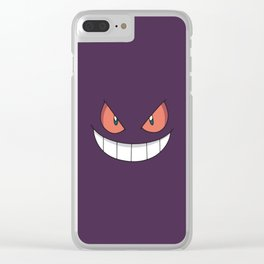 Gengar Clear iPhone Case