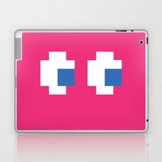 Pacman Ghost Eyes Laptop & iPad Skin