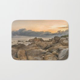 Stones, Ocean and Heaven Bath Mat