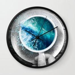 spoondrift II Wall Clock