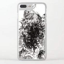 Bizzarro Apocolypse Clear iPhone Case