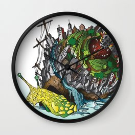 The Church is on Fire Wall Clock