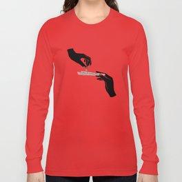 Flower roll / Illustration Long Sleeve T-shirt