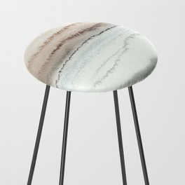 WITHIN THE TIDES NATURAL THREE by Monika Strigel Counter Stool
