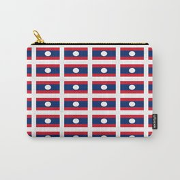 flag of Laos -Muang Lao,ເມືອງລາວ ,laotien,lao,ventiane,Lan Xang Hom Khao Carry-All Pouch