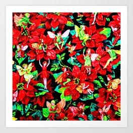 Fairy Flower | Christmas Spirit Art Print