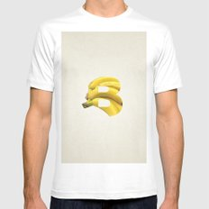 B. Mens Fitted Tee MEDIUM White