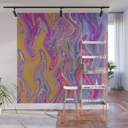 Colorful Lava Flow Wall Mural