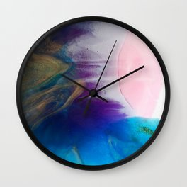 Coral beach Wall Clock