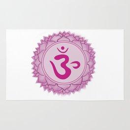 Sahasrara Crown Chakra Rug