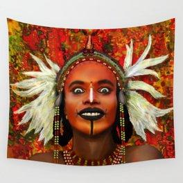 Wodabbi Groom Wall Tapestry