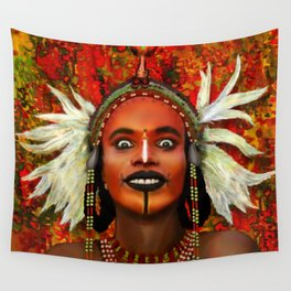Wodabbi Groom Wall Tapestry