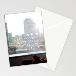 New Every Morning Stationery Cards