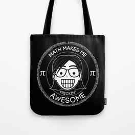 Frickin Awesome - Math Girl Tote Bag