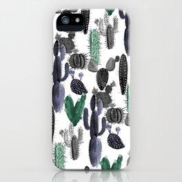 Cactus Prickles iPhone Case