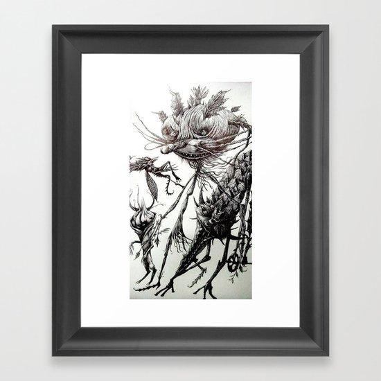 belial Framed Art Print